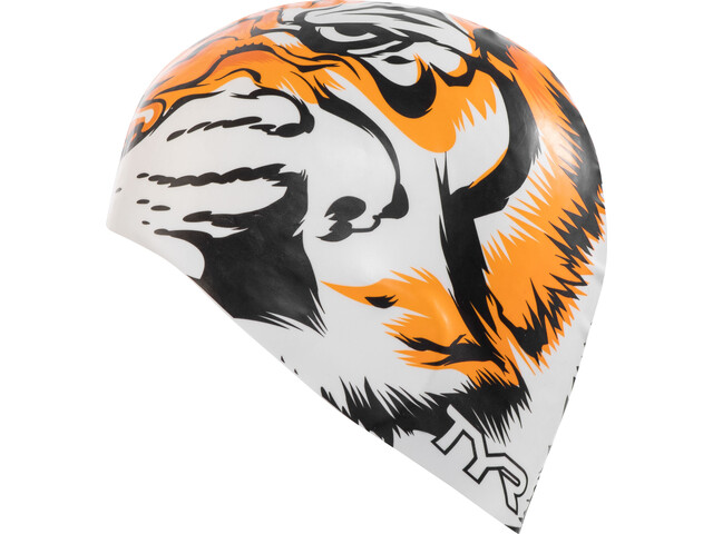TYR Tiger Gorra, white/orange
